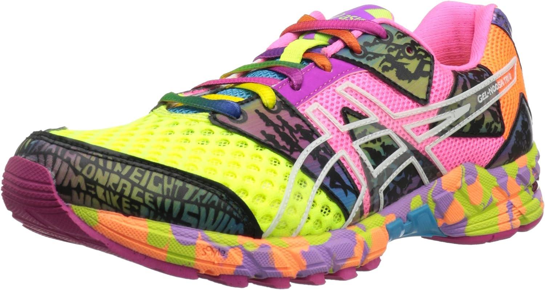 ASICS GEL-Noosa Tri 8 - Zapatillas de running para mujer, Amarillo (Flash Amarillo/Flash Pink/Multi), 39 EU: Amazon.es: Zapatos y complementos