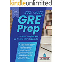 GRE Prep 2021-2022 3rd Edition: 4 Complete Practice Test + Review & Techniques + Proven Strategies for the Graduate…