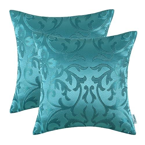 teal sofa pillows amazoncom