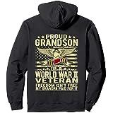 Freedom Isn't Free - Proud Grandson Of A World War 2 Veteran Pullover Hoodie