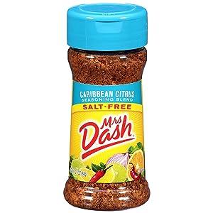 Mrs. Dash Salt-Free Seasoning Blend, Caribbean Citrus, 2.4 oz