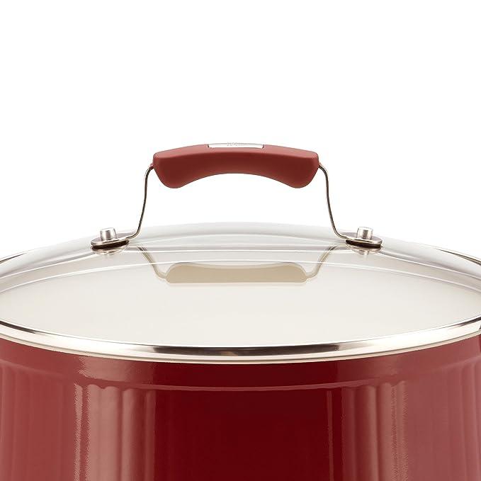 Colección de Paula Deen Savannah antiadherente de aluminio batería de cocina (17 piezas): Amazon.es: Hogar