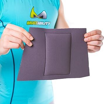 Amazon.com: braceability almohadilla de presión para espalda ...