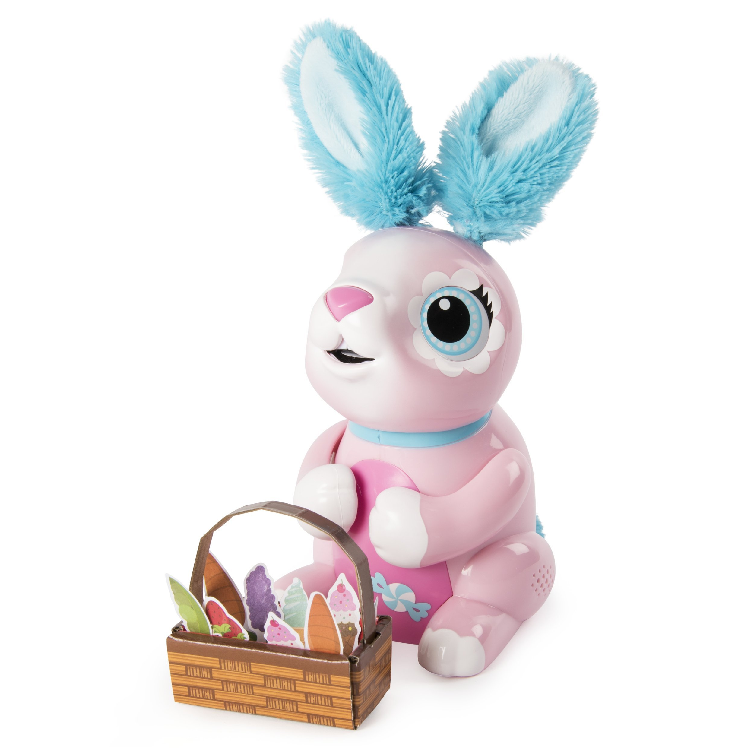 Zoomer Hungry Bunnies Shreddy, Interactive Robotic Rabbit That Eats, Ages 5 & Up by Zoomer (Image #1)