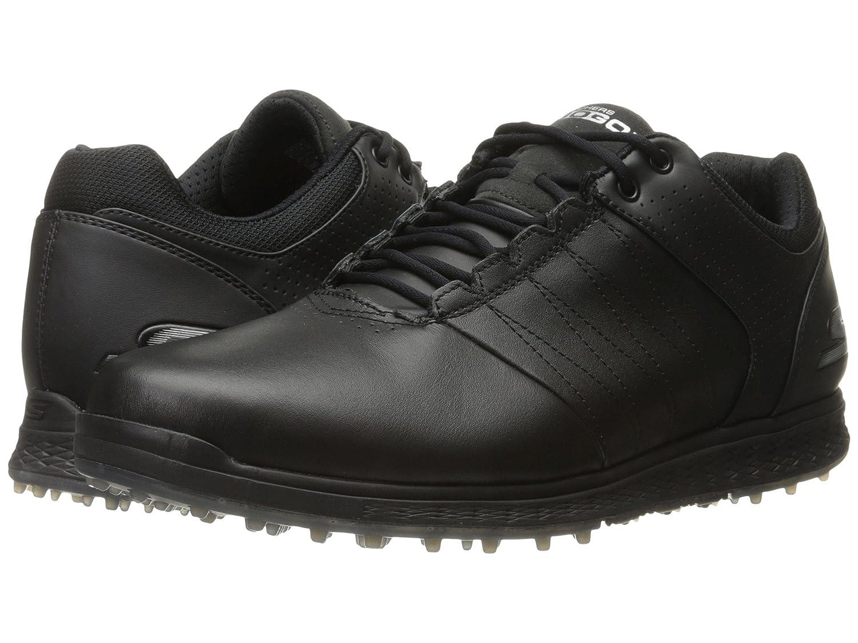 [スケッチャーズ] メンズ Go Golf Elite 2 スニーカー [並行輸入品] 28.5 cm ブラック/シルバー B06XCR225M