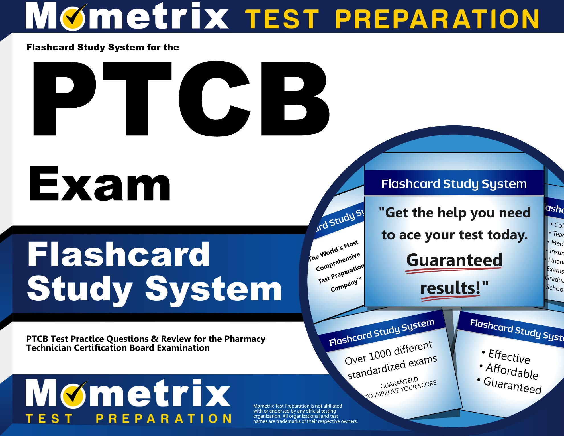 Flashcard Study System for the PTCB Exam: PTCB Test Practice Questions & Review for the Pharmacy Technician Certification Board Examination (Cards) by Mometrix Media LLC
