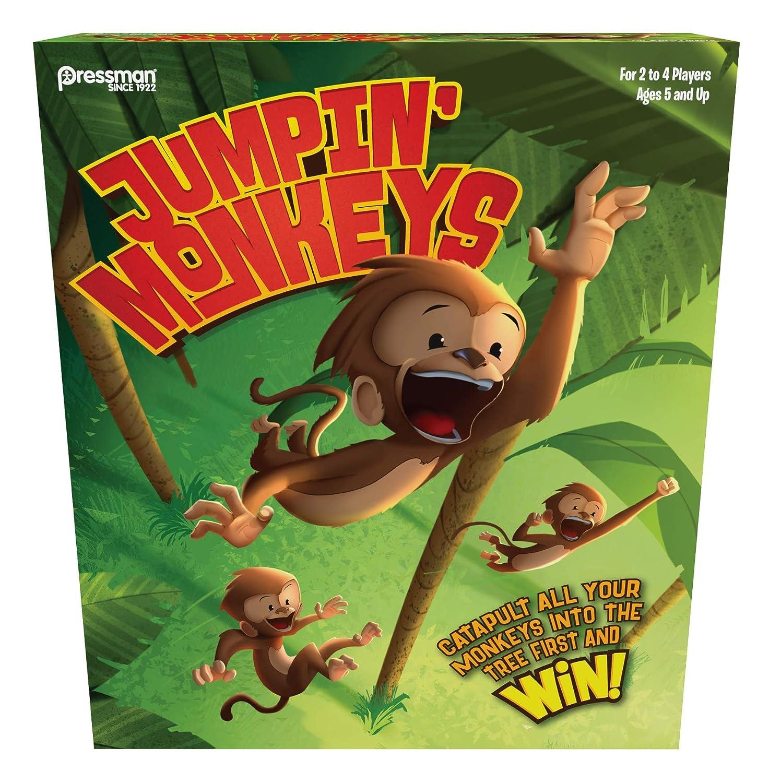 Pressman Toy Jumpin Monos: Amazon.es: Juguetes y juegos