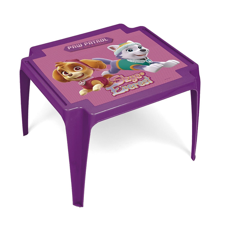 Arditex PW11138 Table Monoblock en Plastique sous Licence La Pat'patrouille Girl Plastique Rose 50 x 55 x 44 cm Arditex_PW11138