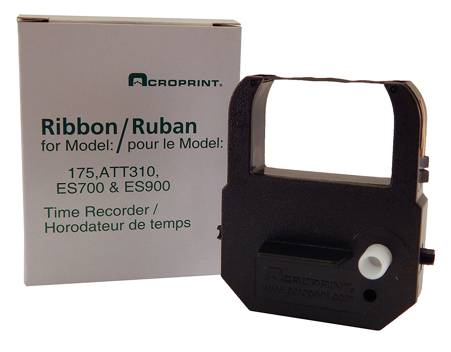 Acroprint Time Recorder Co. Acroprint 39-0121-004 Replacement Ribbon for Acroprint Model 175, Model 310, ES700 and ES900, Purple Time Clock
