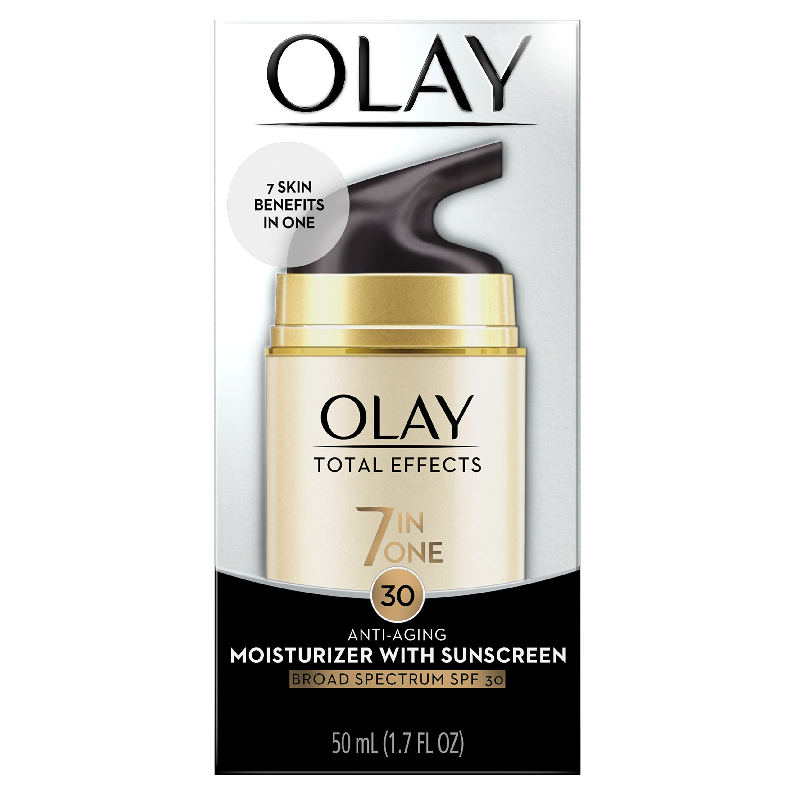 Olay Total Effects 7-in-1 Anti-Aging Daily Face Moisturizer With SPF 30, 1.7 fl oz by Olay (Image #2)