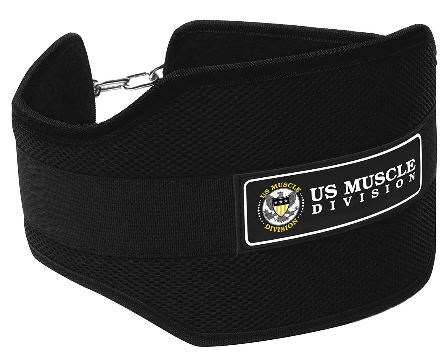 Amazon.com : US Muscle Division Dipping Belt Pro Bodybuilding Dip ...