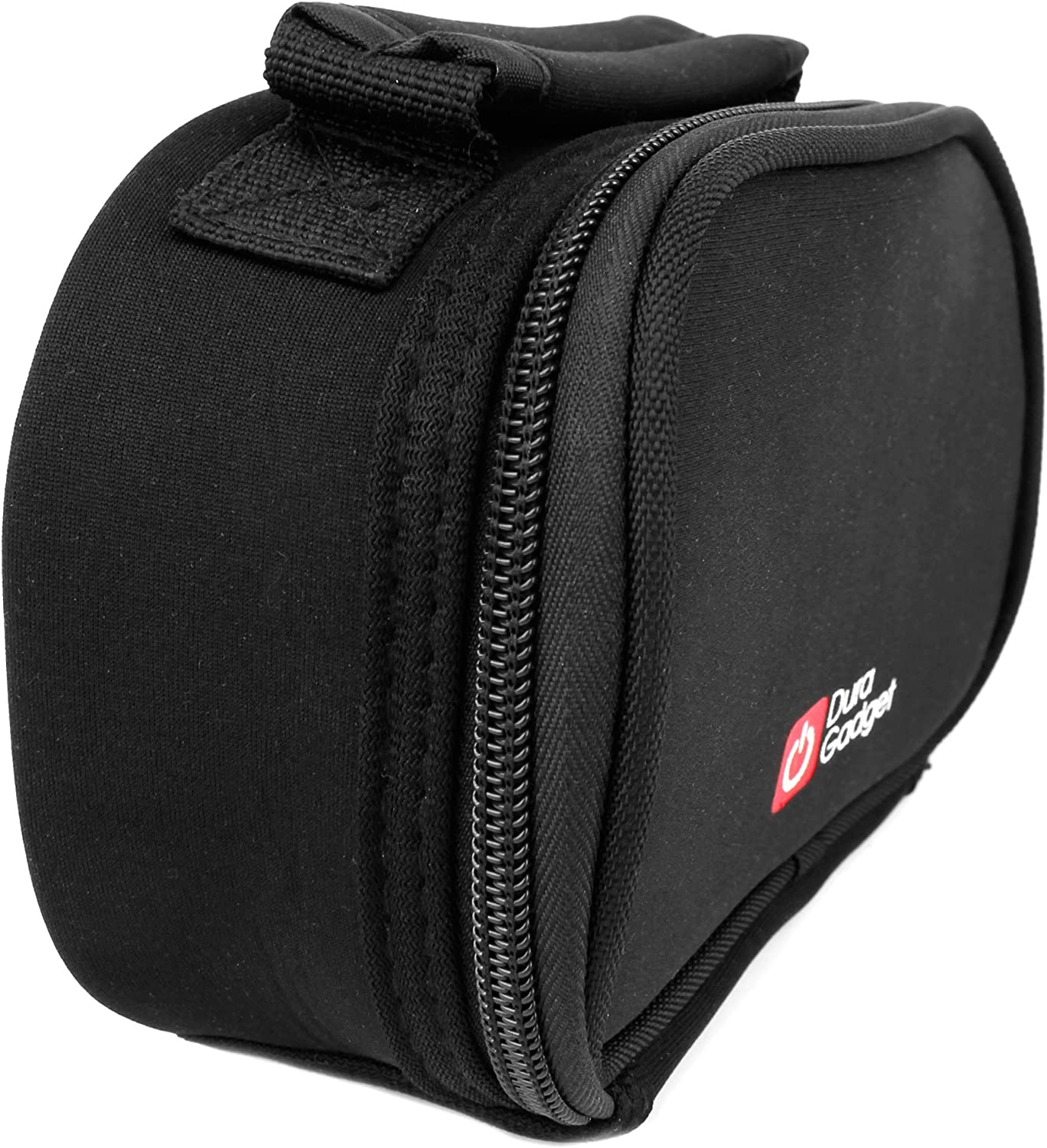 GoXtreme Nano Compatible with EasyPix GoXtreme Race GoXtreme Deep Sea /& Xtasy GoXtreme WiFi GoXtreme Race Full HD DURAGADGET Durable Black Padded Case w//Handle