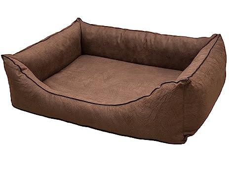 Copcopet Cama para perros Emma, cama impermeable para perros, perros espacio de dormir en
