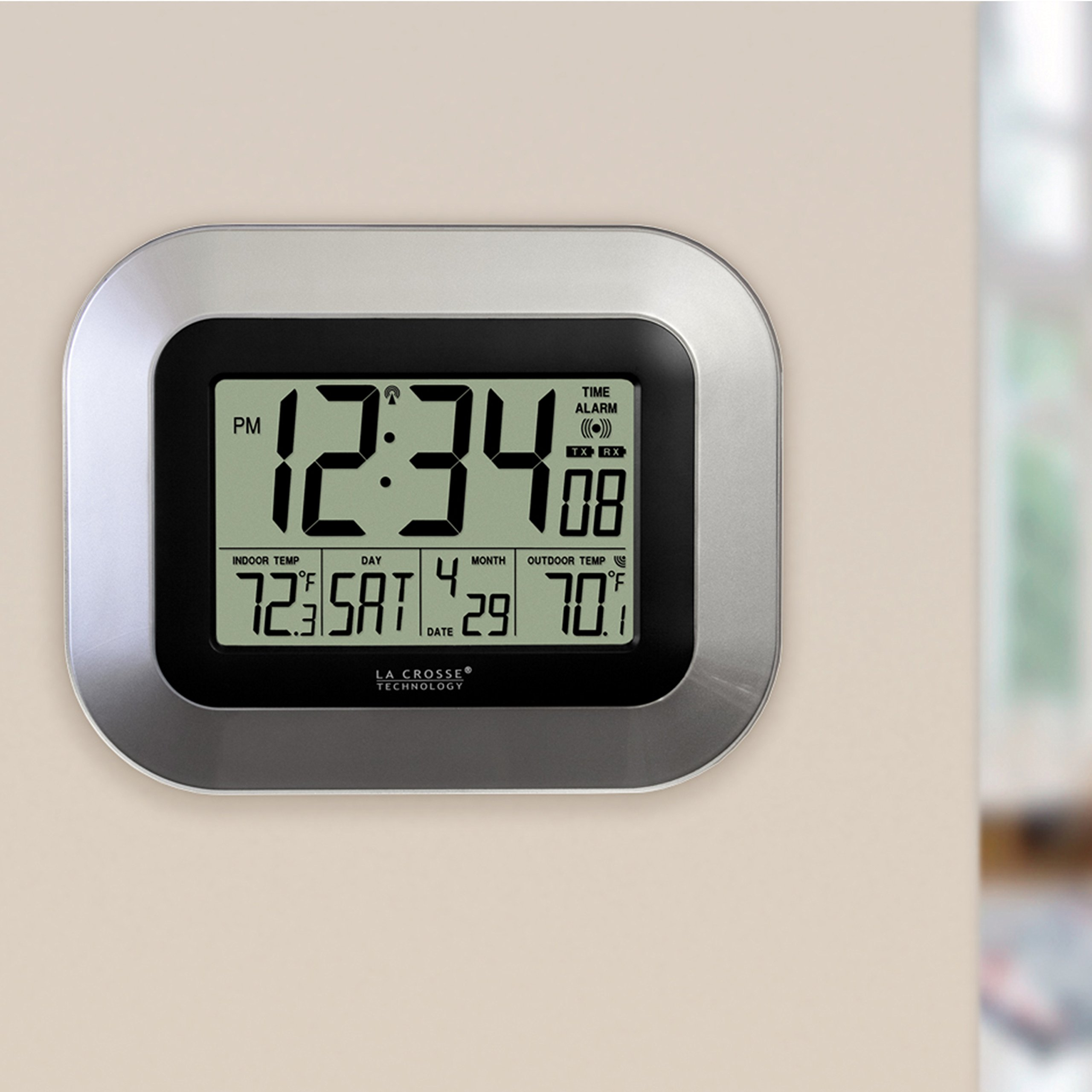 Brookstone 5 in 1 Sensor Clock | eBay