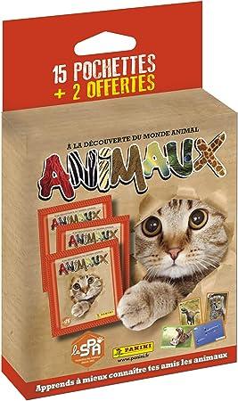 5 Pockets 3 Free Animals 2019-2020 Panini France SA-Starter Pack 1 Album 2519-015