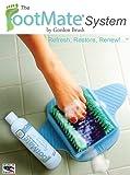 The FootMate System Foot Massager & Scrubber w/ Rejuvenating Gel, Blue