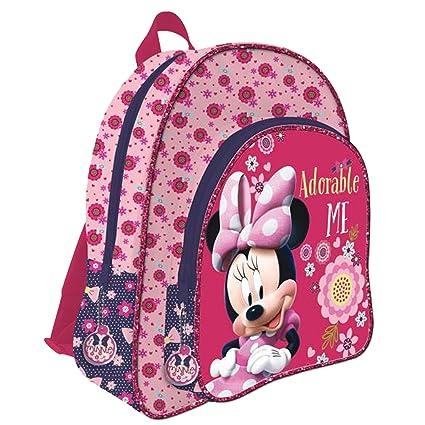 rabais de premier ordre professionnel de la vente à chaud design distinctif Licence Minnie Mouse Sac à dos enfant, 42 cm, Multicolor