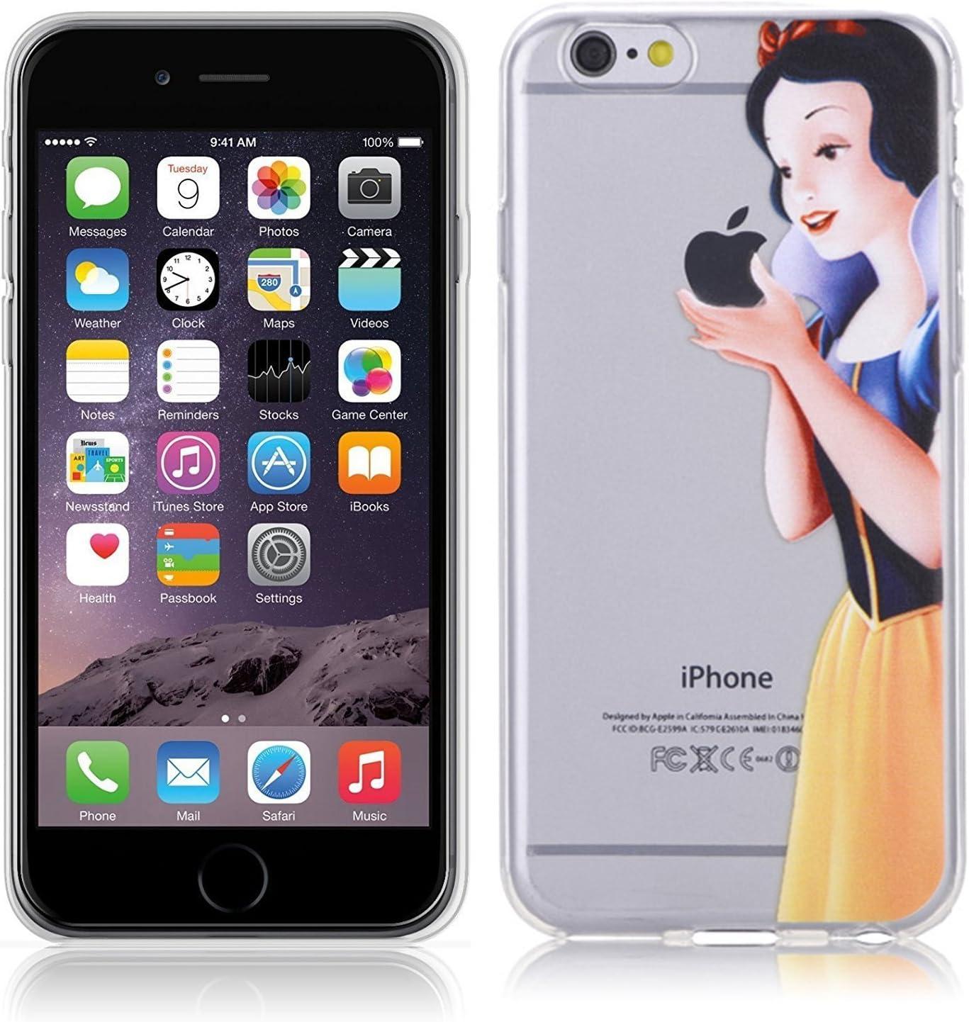 Funda carcasa Apple Iphone 7 / 8 gel / TPU / transparente Blancanieves
