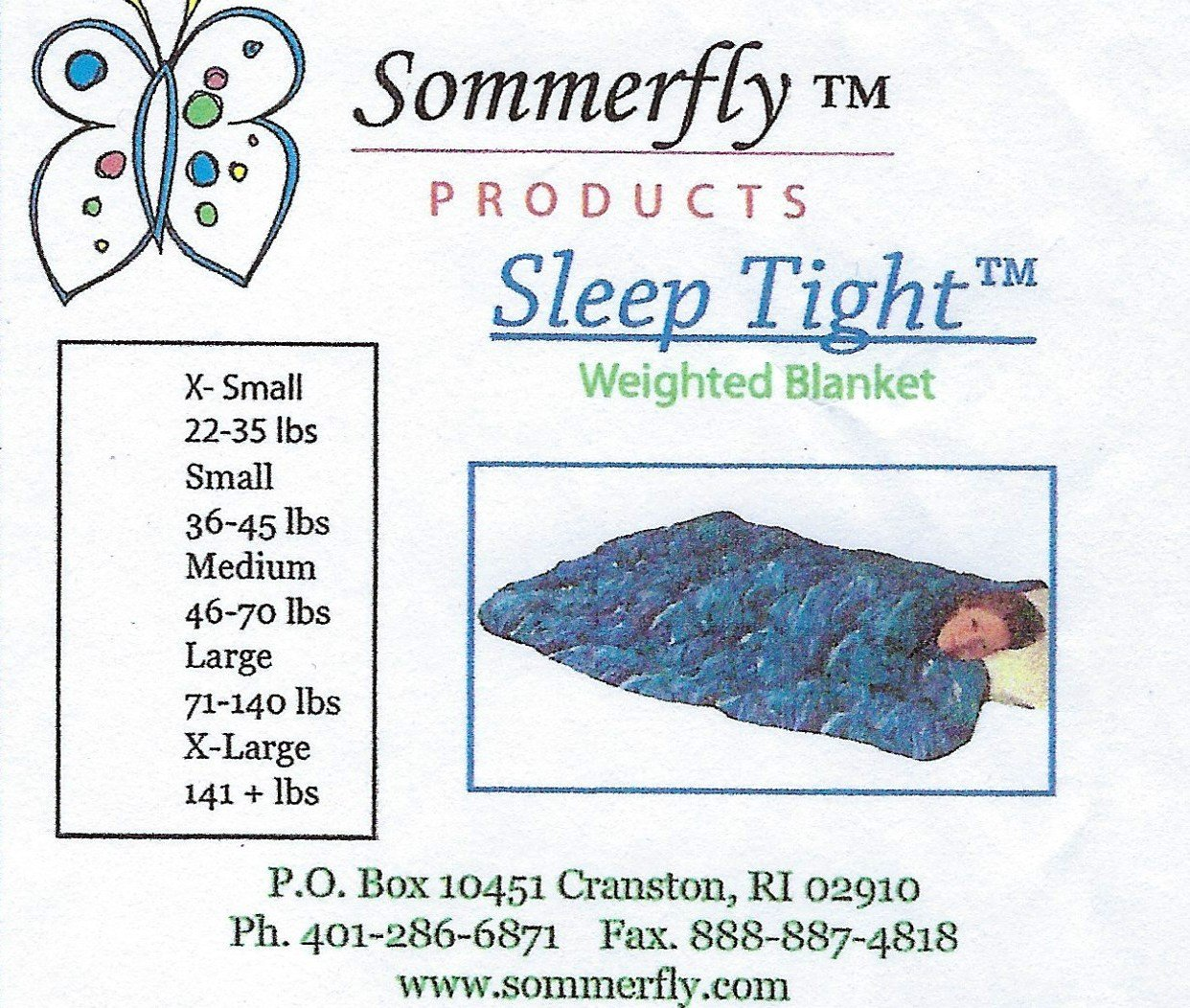 "Sleep Tight Weighted Blanket XL 25 Pound Navy 141+ pounds 57"" X 80"""