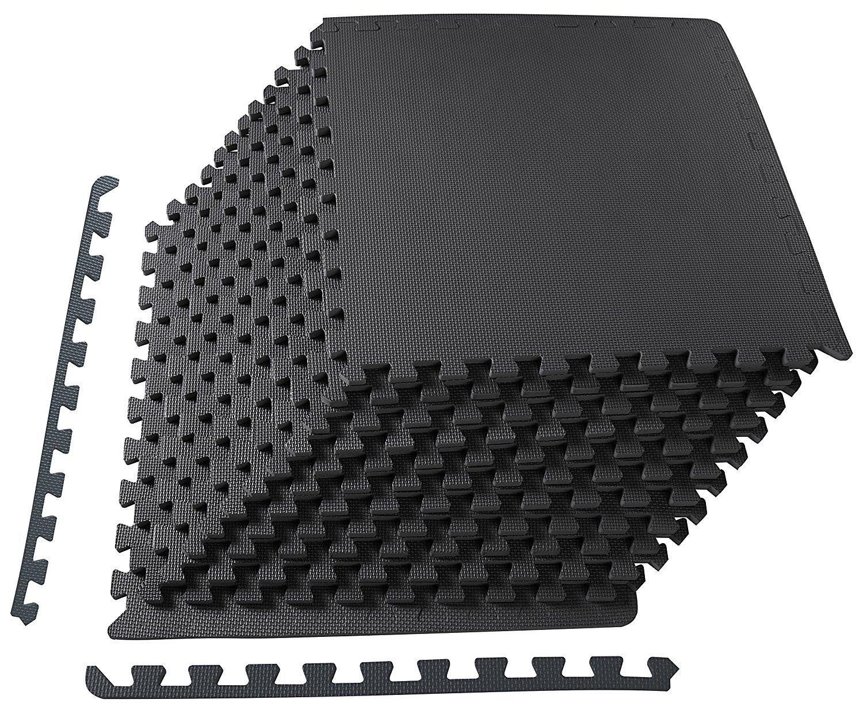 若者の大愛商品 Puzzle 61cm Exercise Mat with 1.3cm EVA Foam Interlocking Tiles 61cm with 1.3cm 6枚セット, 12枚セット, 36枚セット Black/Gray/Blue トレーニング用ジョイントマット (blue, 12枚セット) B07BGD7ZTZ black 12枚セット 12枚セット|black, スタイルでワイン:57071506 --- arianechie.dominiotemporario.com