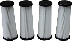 LTWHOME F1 Hepa Filters Suitable for Dirt Devil Vision Vacuum (Pack of 4)