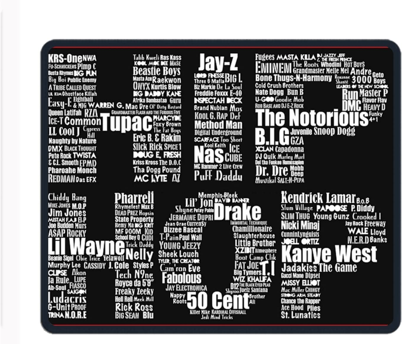 Who is The Doctor Personalized Computer Mouse Pad with Non-Slip Rubber Base Premium-Textured Stitched Edges Mouse Pads for Computers Laptop Office /& Home 7 X 8.6 in