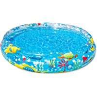 Bestway Kids' Deep Dive 3-Ring Splash Paddling Pool, 1.52 m x H30 cm