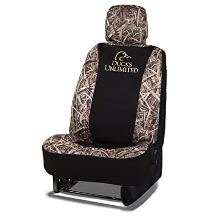 Ducks Unlimited Seat Covers >> Amazon Com Ducks Unlimited Camo Seat Cover Low Back Du Shadow