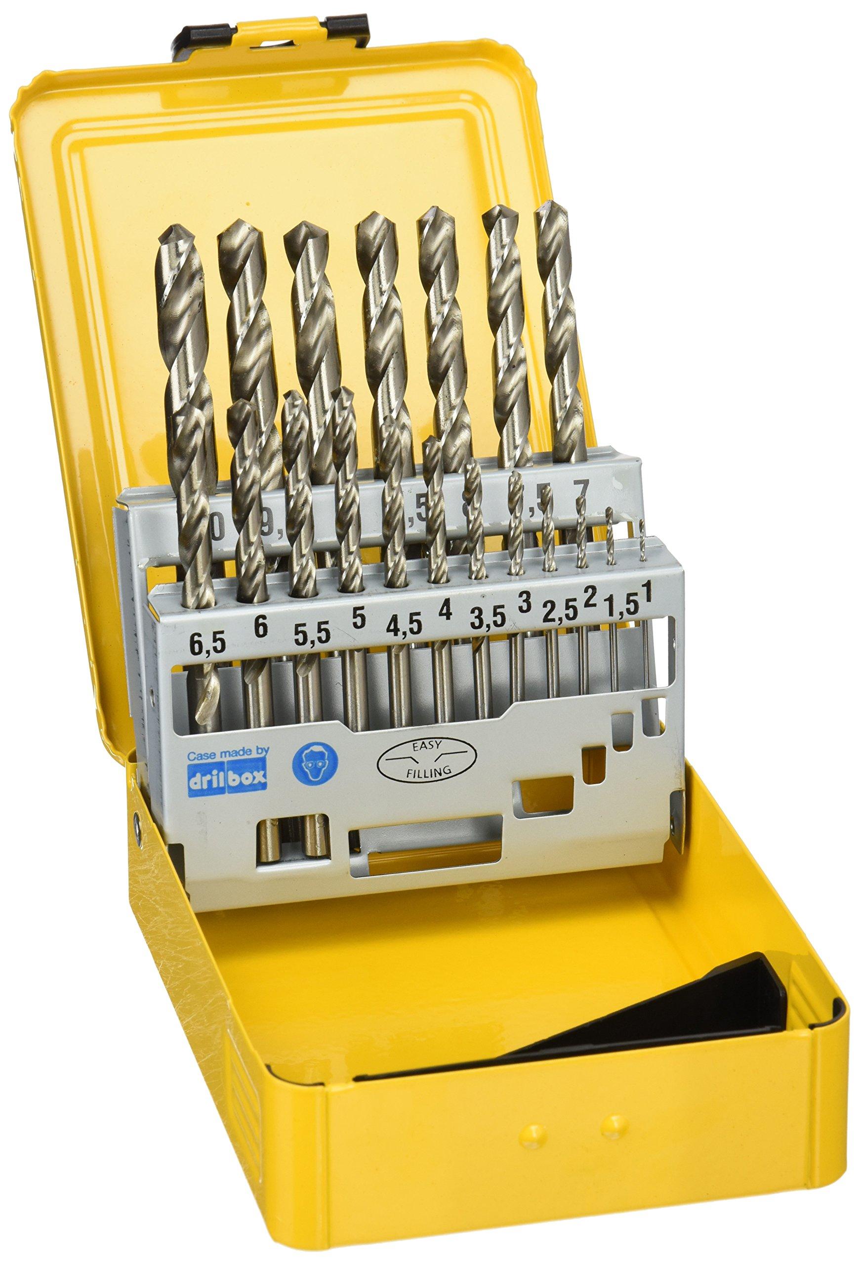 Dewalt DT5923-QZ Metal drill bit-Set (19 Piece) HSS-G