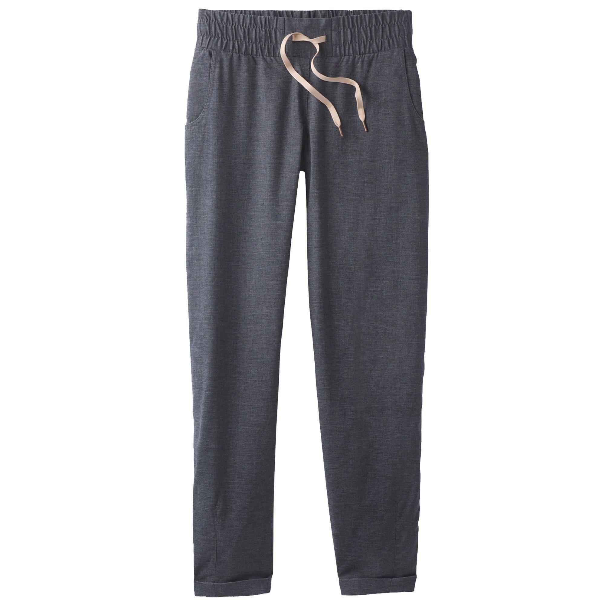 prAna Women's Shala Pants, Medium, Coal