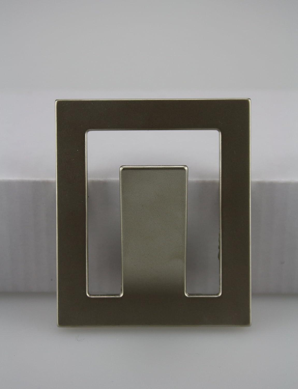 Kleiderhaken Garderobenhaken Huthaken aus Metall in verschiedenen Ausf/ührungen Nickel schwarz poliert