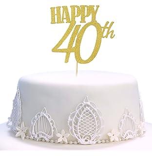 Velas Maxi de 40 años para Tarta de cumpleaños, 40 años ...