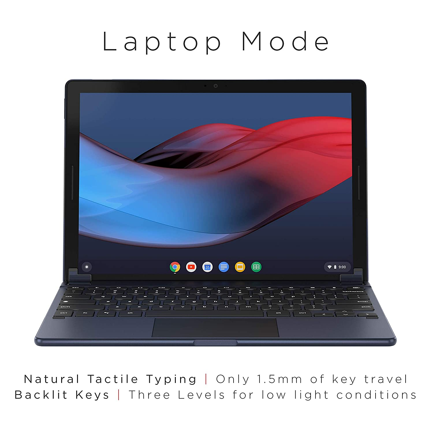 Brydge G-Type Wireless Keyboard for Google Pixel Slate | Aluminum Bluetooth  Keyboard with Touchpad | Built-in Chrome OS & Google Assistant Keys