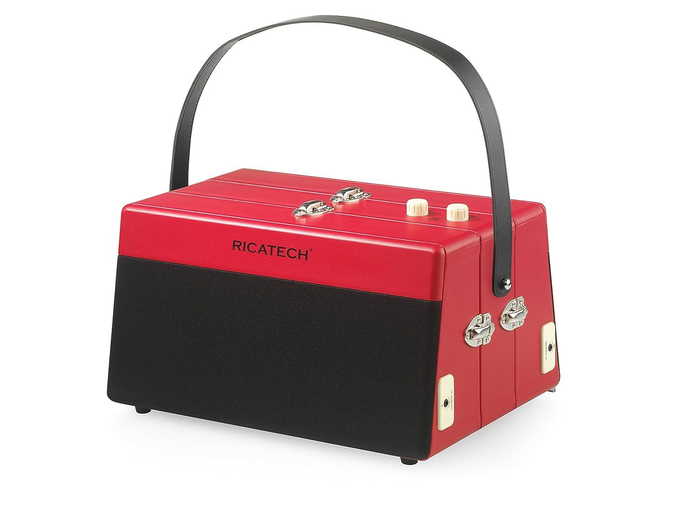 Ricatech RTT80 - Tocadiscos para Equipo de Audio, Rojo: Amazon.es ...