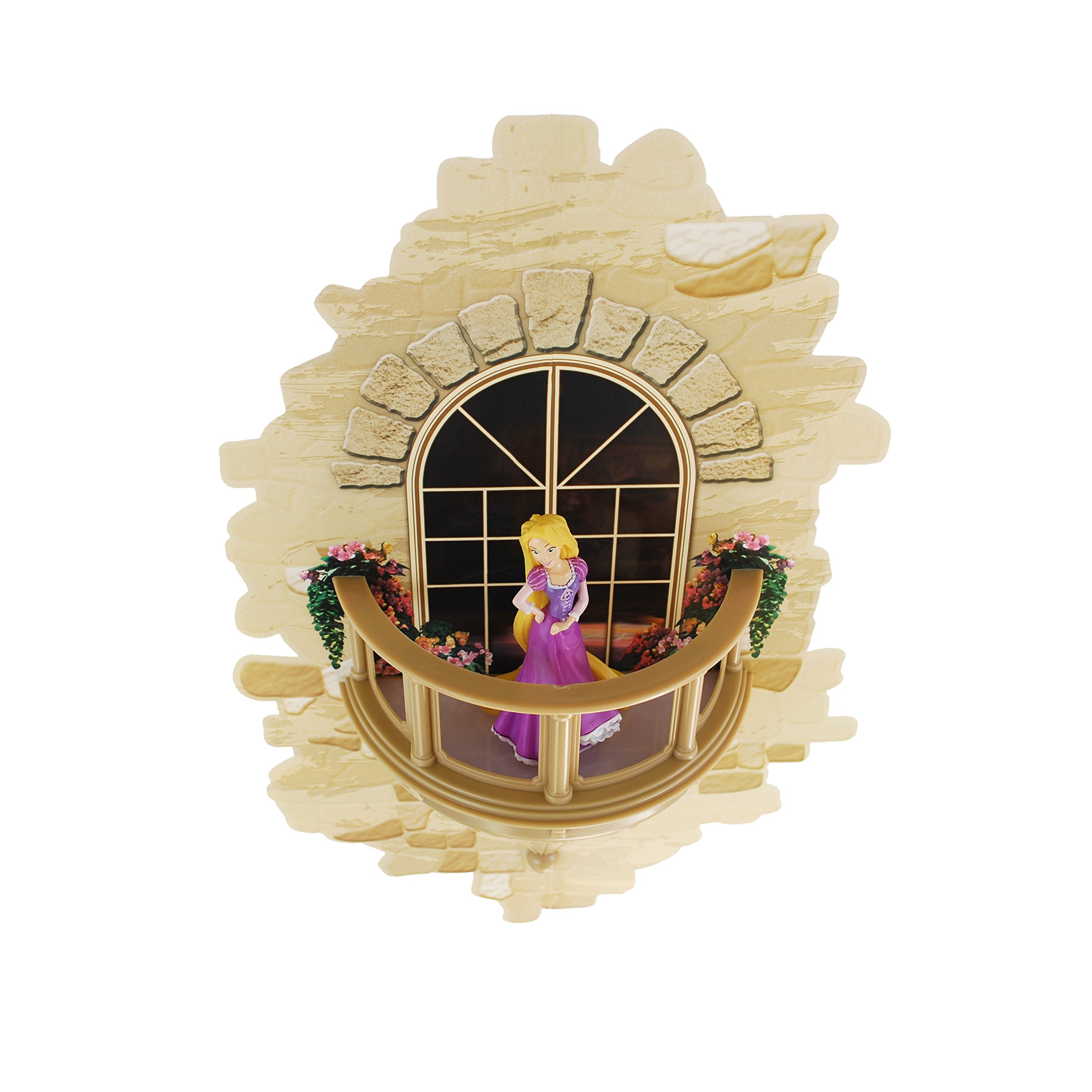 3DLightFX Disney Princess Rapunzel Balcony 3D Deco Light