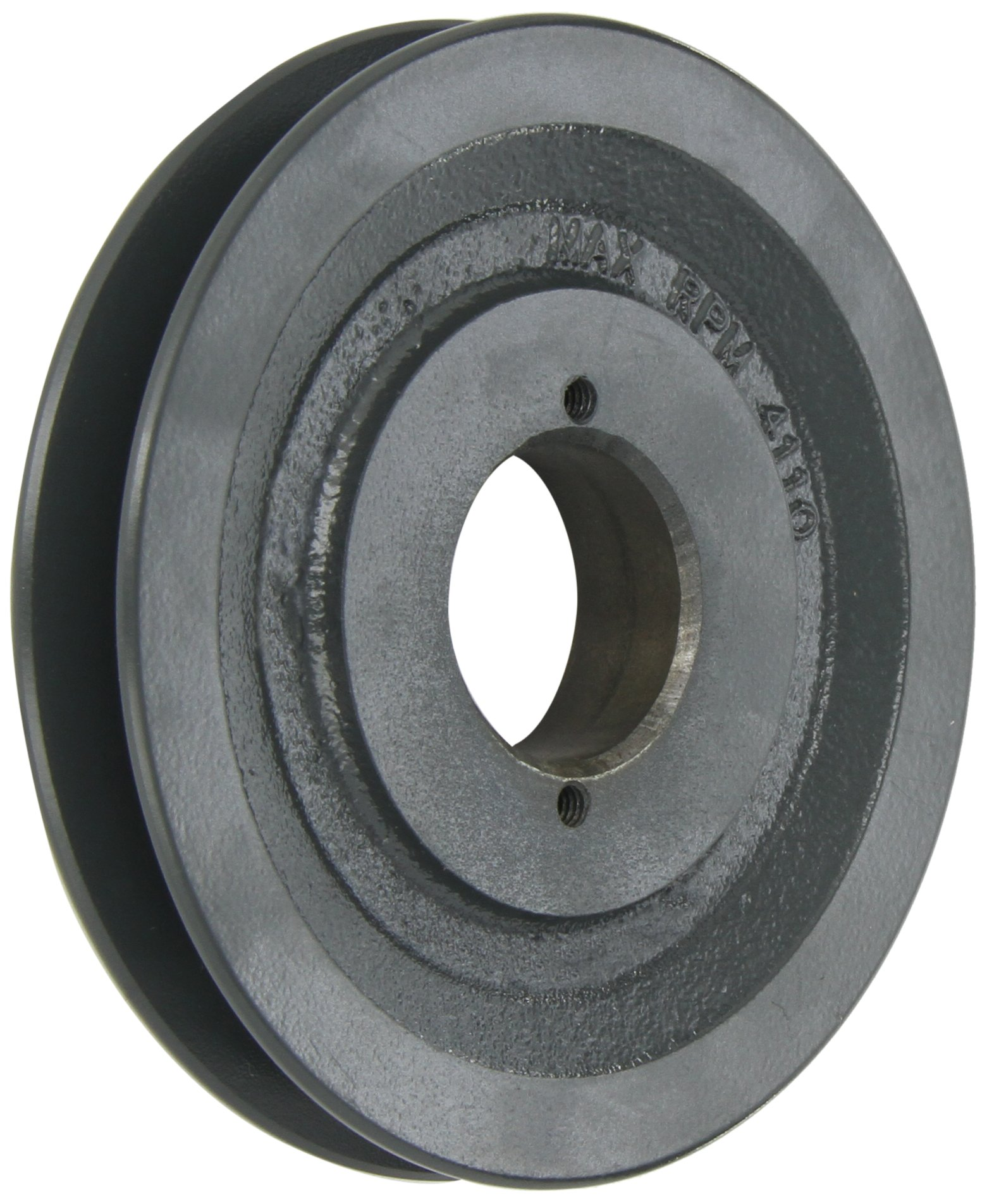 Browning BK60H Bushed Classical Gripbelt Sheave, 4L or A, 5L or B Belt, 1 Groove, Uses H Bushing