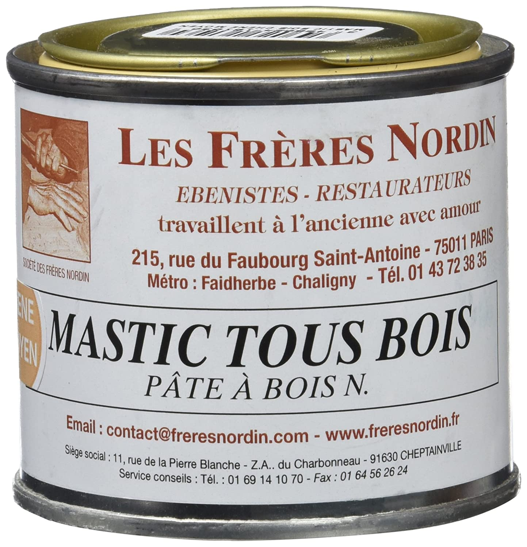 Los Hermanos Nordin 416103 masilla para madera Pro roble medio Les frères Nordin