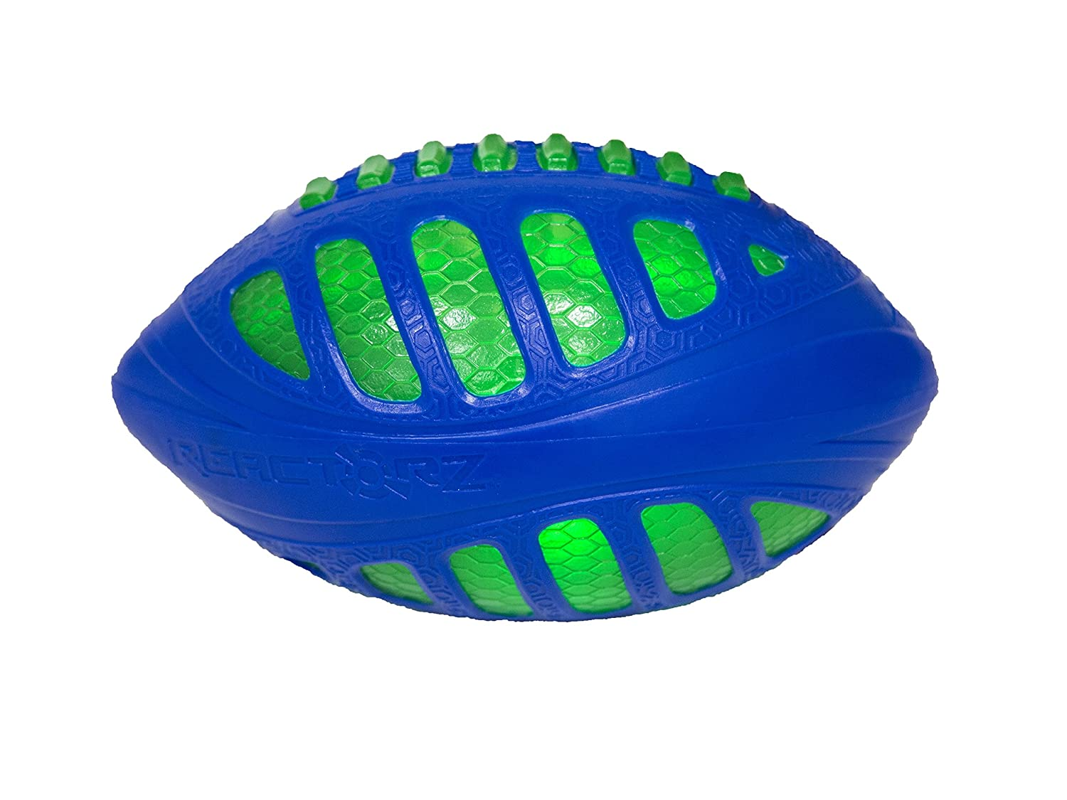 Reactorz Light-Up Football, Blue by COOP