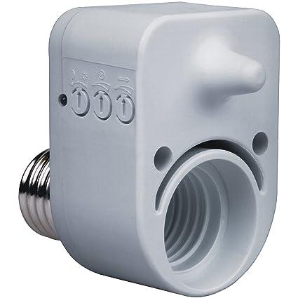 Smartwares 10.017.57 Portalámparas y Detector de Movimiento