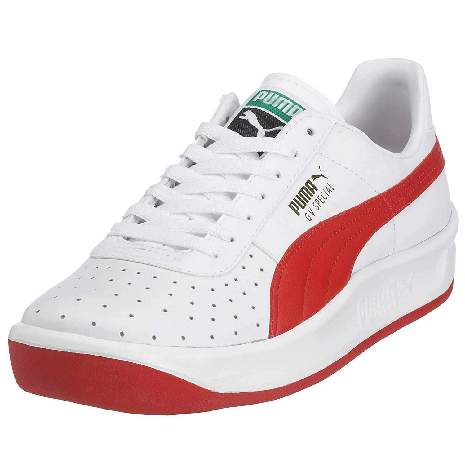 7c0abf31ad74 ... RedBlack) VILLA Puma GV Special White 343569-08 5.5 Amazon.co.uk Shoes  Bags ...