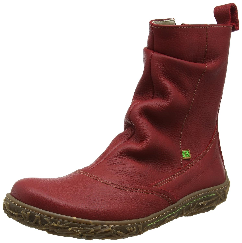 El Naturalista N722 Soft Grain Nido, Botines para Mujer36 EU Rojo (Tibet)