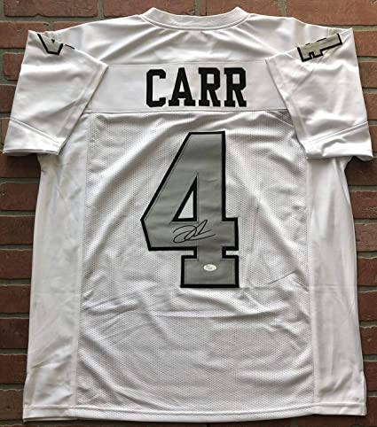 Derek Carr autographed signed jersey NFL Oakland Raiders JSA w COA ... 06815aa6336c