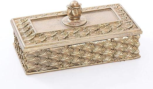 Adda Home Caja Resina 18X6X9 CM: Amazon.es: Hogar