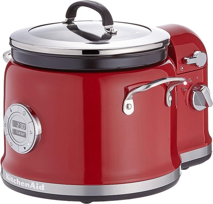 Kitchenaid 5KMC4244EER Empire - Robot de cocina (con mezclador), color rojo: Amazon.es: Hogar