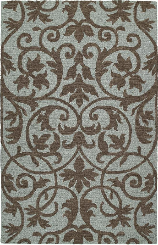 Kaleen Rugs Carriage Collection 6101-56 Spa Hand Tufted 3' x 5' Rug
