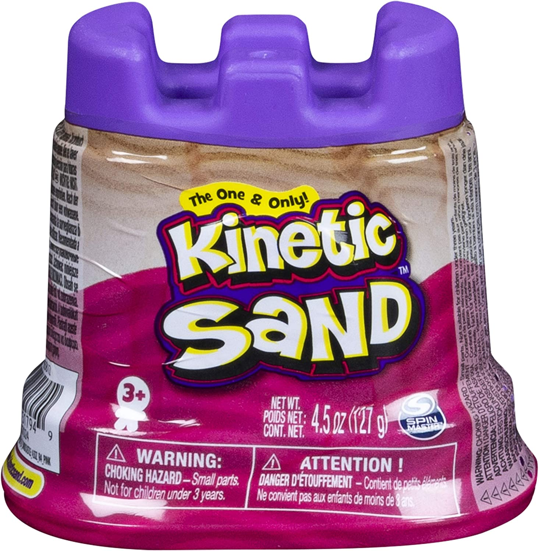 Kinetic Sand Mini ch/âteau avec Sable mall/éable 127 GR Rose