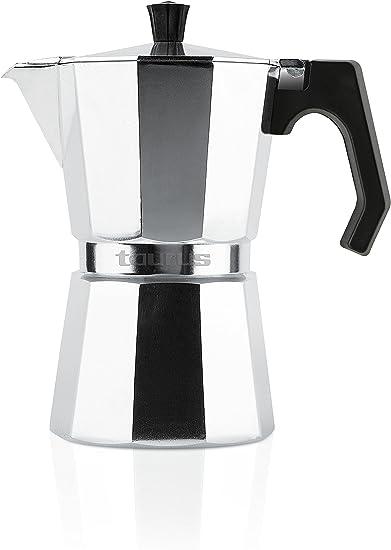 Taurus Cafetera de Vacío, Aluminio, 3 Tazas: Amazon.es: Hogar