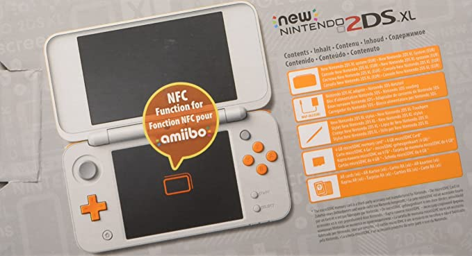 Nintendo New 2DS XL - Consola Portátil, Color Blanco y ...