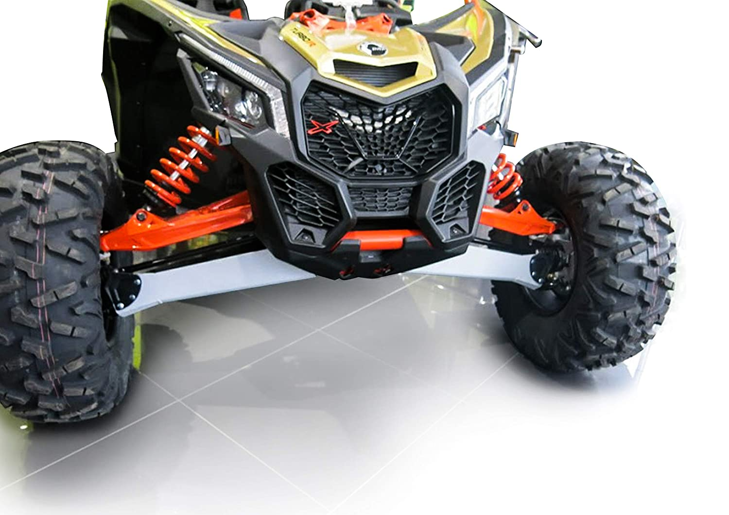 X3 MAX//X RS//X RC TURBO R from 2017 to 2019 Rival Front A arm guards for Can-Am SSV Maverick X3 pair