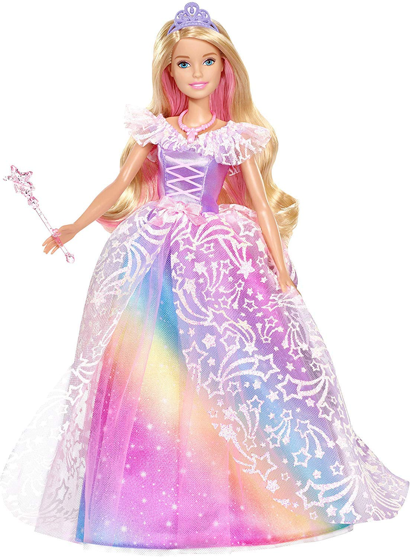 Barbie Dreamtopia Muñeca Superprincesa con Accesorios (Mattel GFR45)